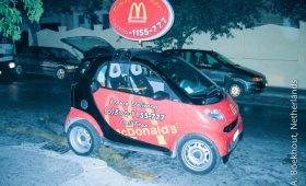 McDonalds gaat bezorgen