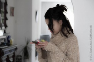 Rowena met iPhone