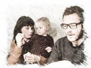 Ruben, Joyce en Emily