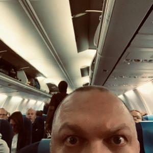 Vliegtuig naar München