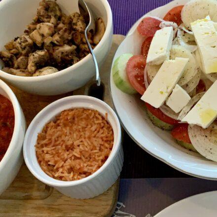 Griekse tomatenrijst